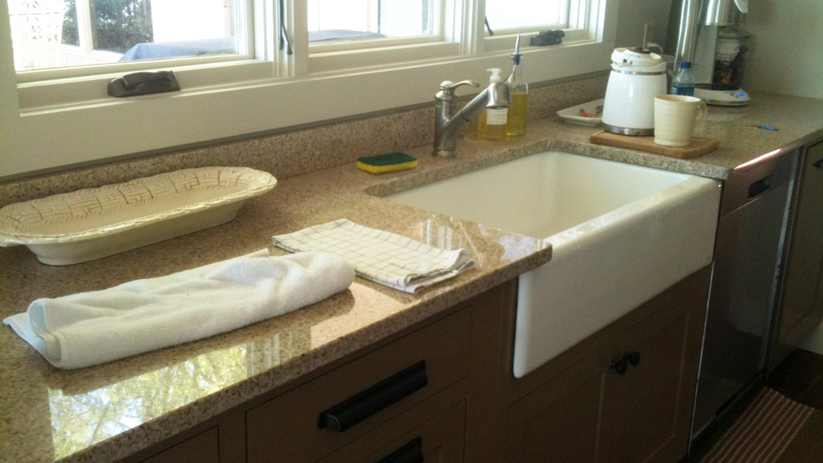 Lake Martin Kitchen Sink and Counter