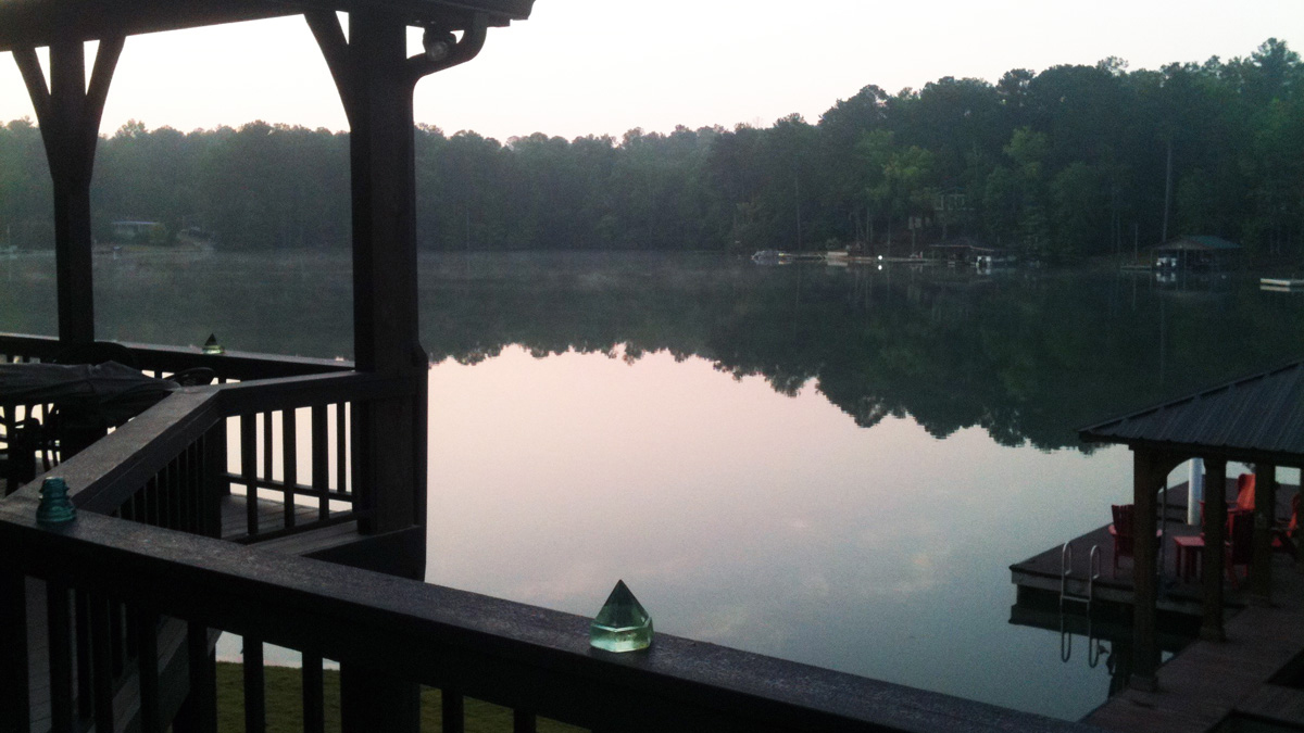 Lake Martin Porch View