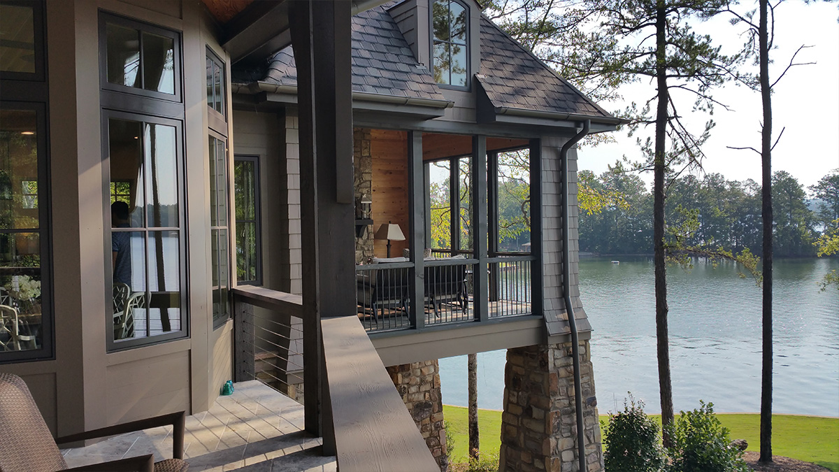 Lake Martin House deck